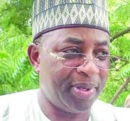 Governor Mohammed Abdullahi Abubakar: storms out of stadium
