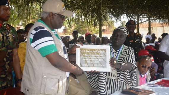 the RESIDENTS of KAILAHUN DISTRICT EXTOL  the APC GOVERNMENT