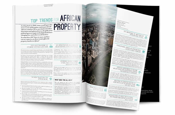 Africa Property Skyline Magazine – A New voice for the African real estate industry