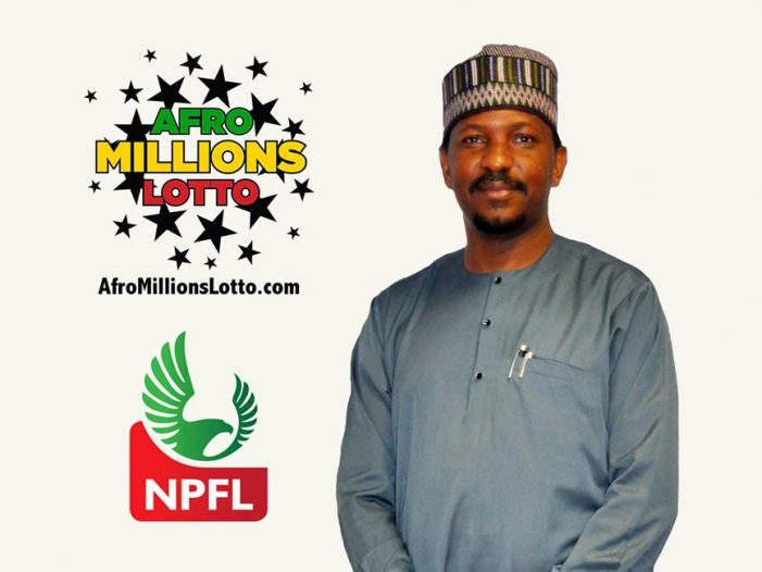 Nigerian professional football league launches New Lottery with the biggest Jackpot ever brought to play in Africa